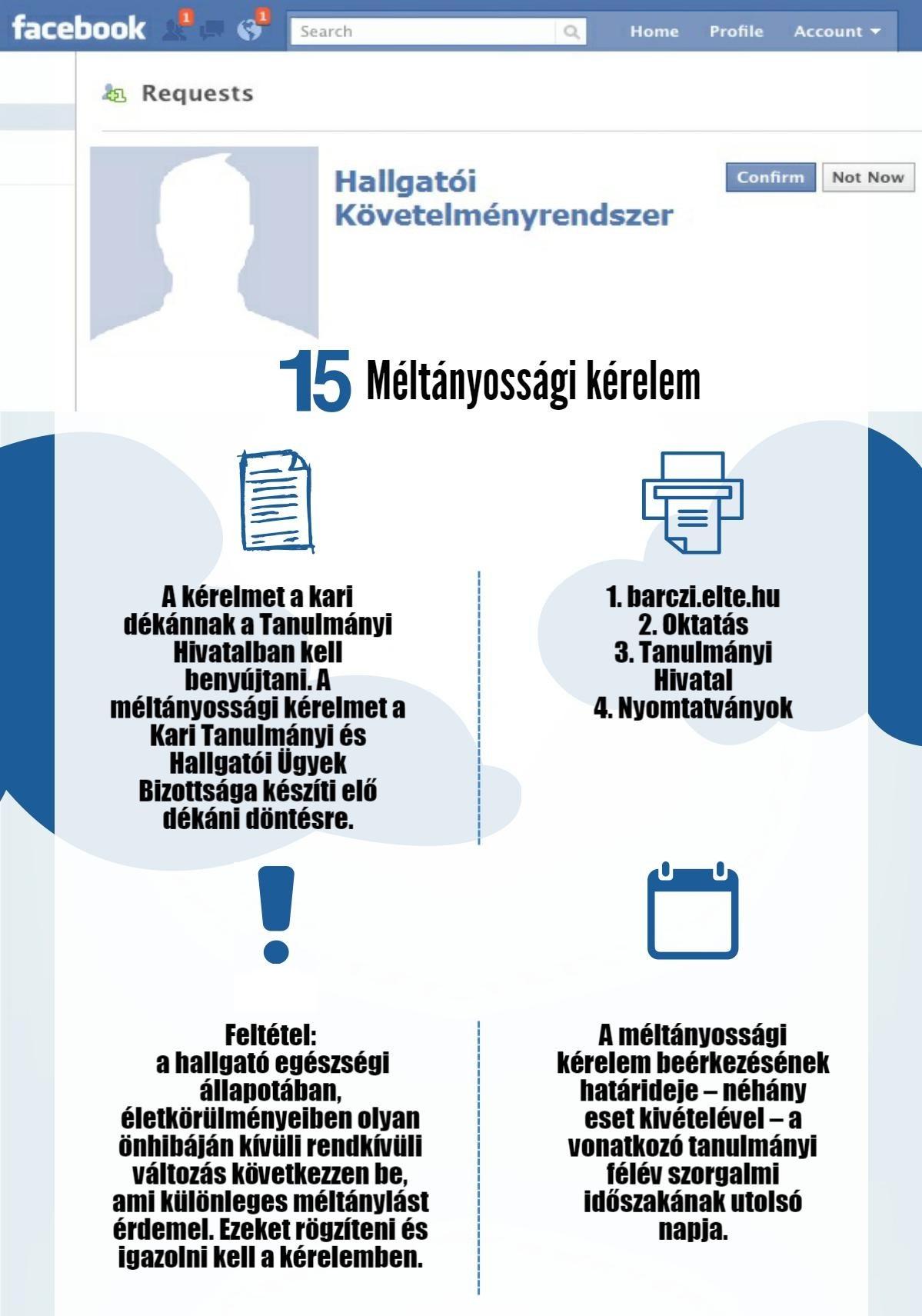 15. méltányossági kérelem