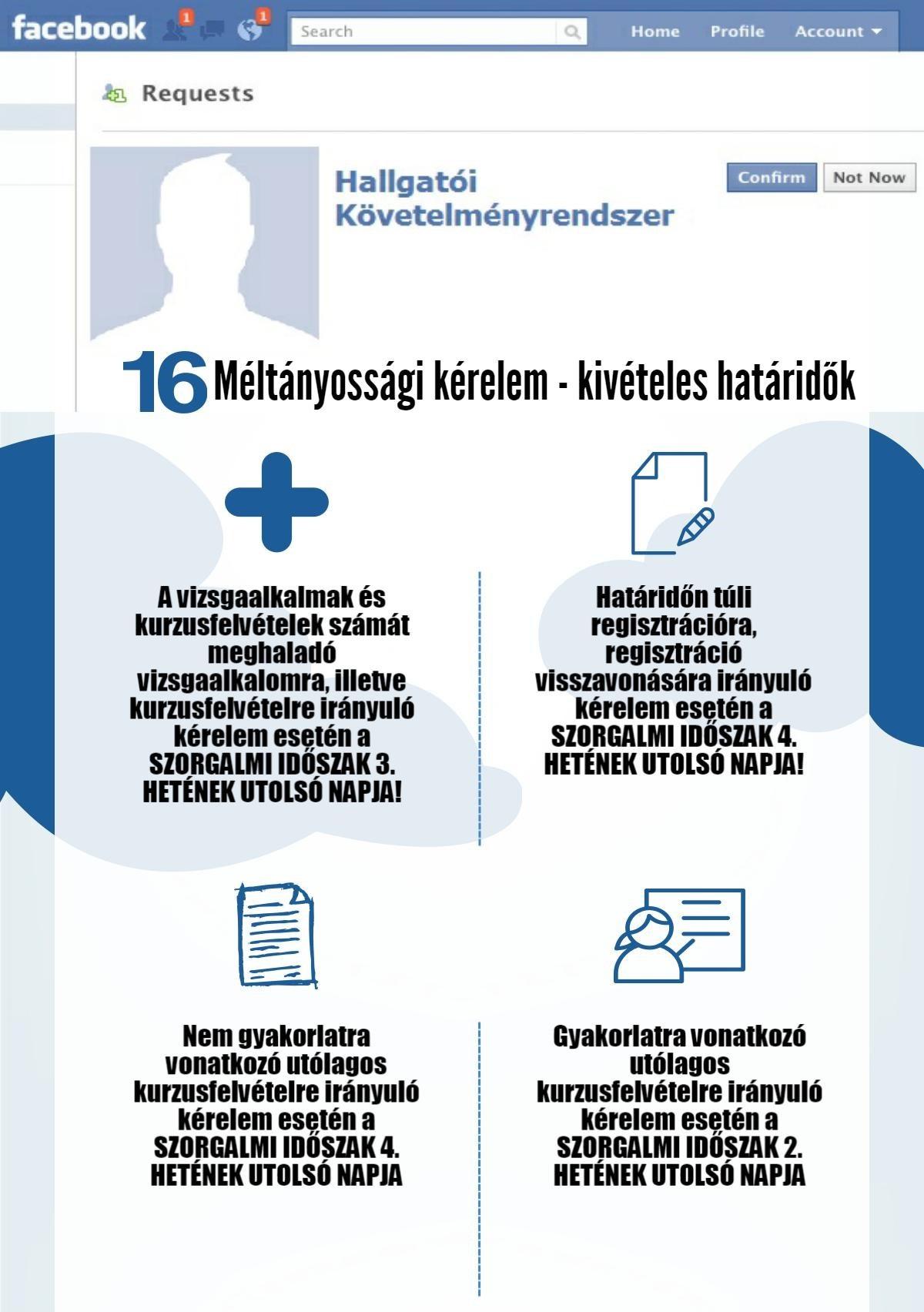 16. méltányossági kérelem - kivételes határidők
