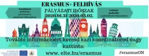 Erasmus jelentkezés